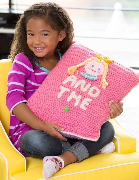 Free Princess & the Pea Pillow Crochet Pattern from RedHeart.com ...