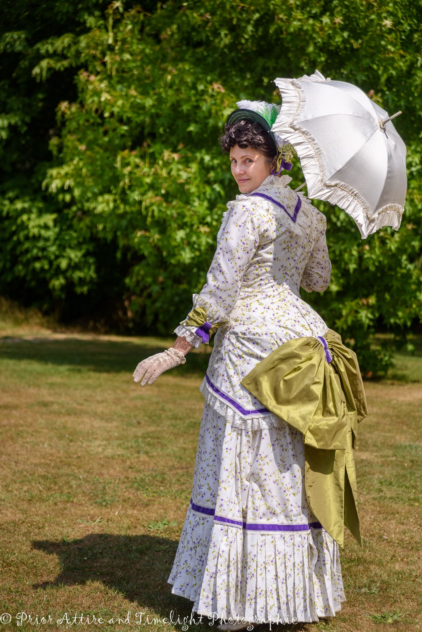 A Natural Form Day Summer Gown In Cotton By Prior Attire Victorian Fashion Victorian Clothing Edwardian Clothing [ 2048 x 1367 Pixel ]