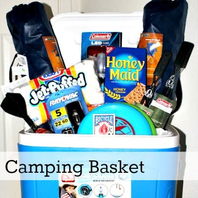 Camping auction raffle basket my pins pinterest raffle camping auction raffle basket negle Gallery