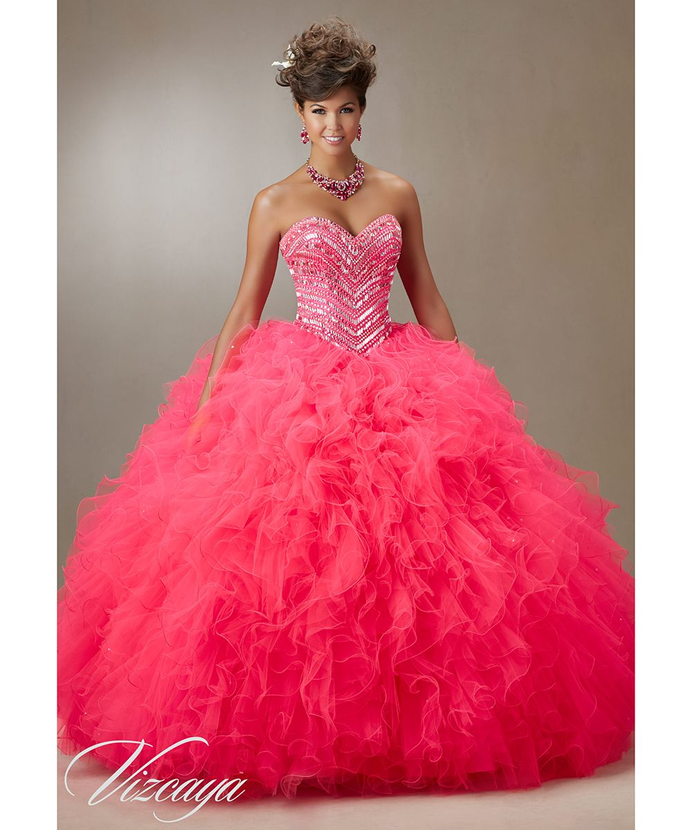 Hot Pink Quinceanera Dresses Ball Gowns 2016 #89072 | Prom Dresses ...