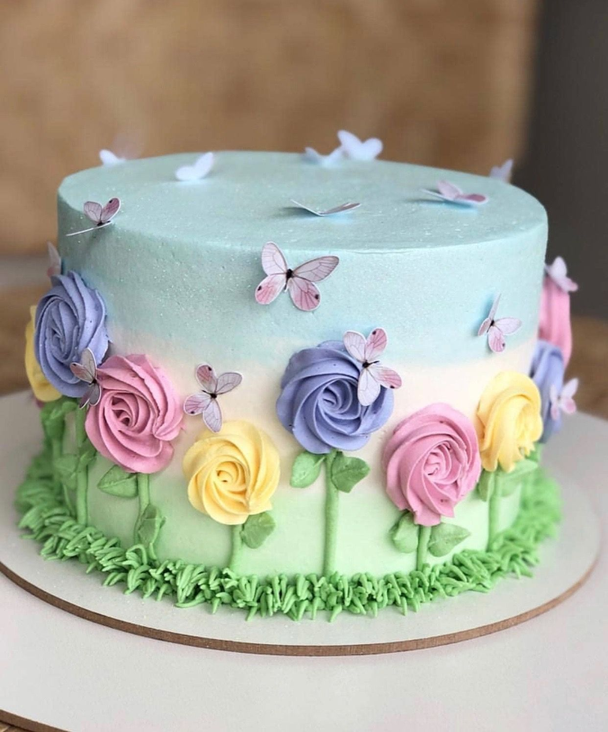 Anytime Spring Cake Cake Decorating Designs Spring Cake Cake