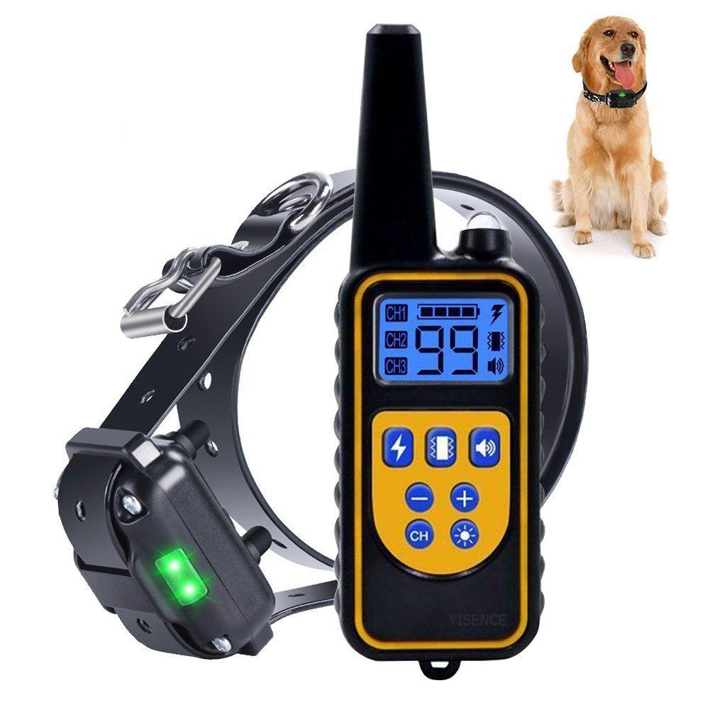 YISENCE Dog Training Collar For Large Dog Or Small Dog