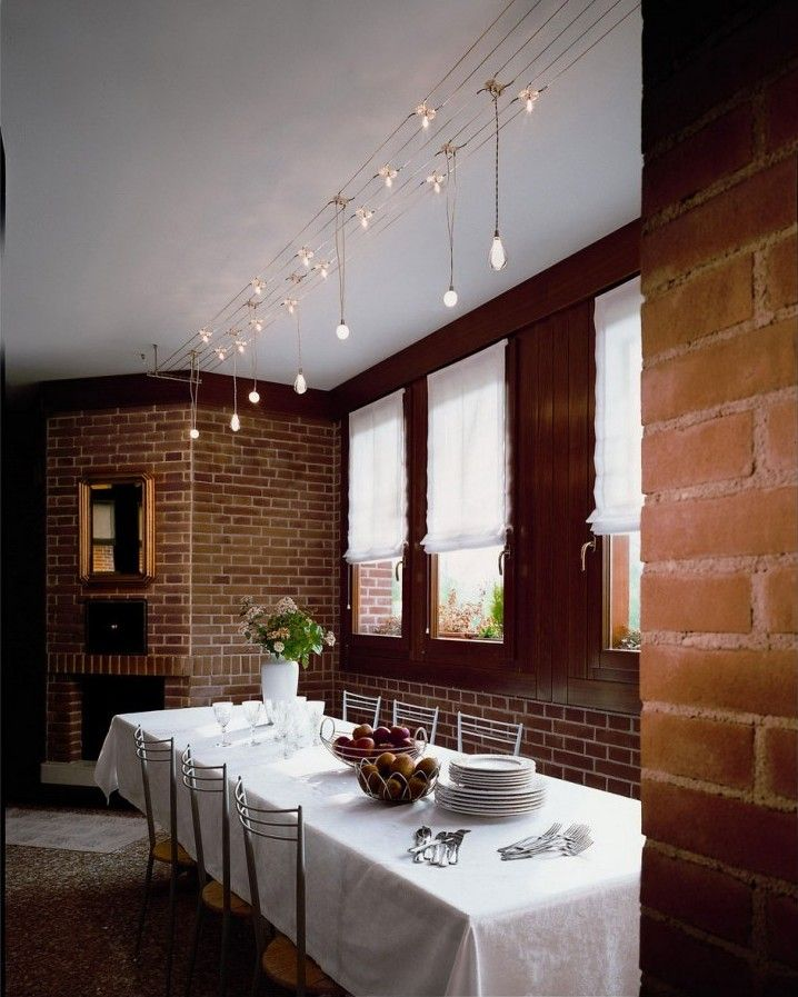 Dining Room Manufacturers: Track Lighting Design For Home Interior Decorating : Track