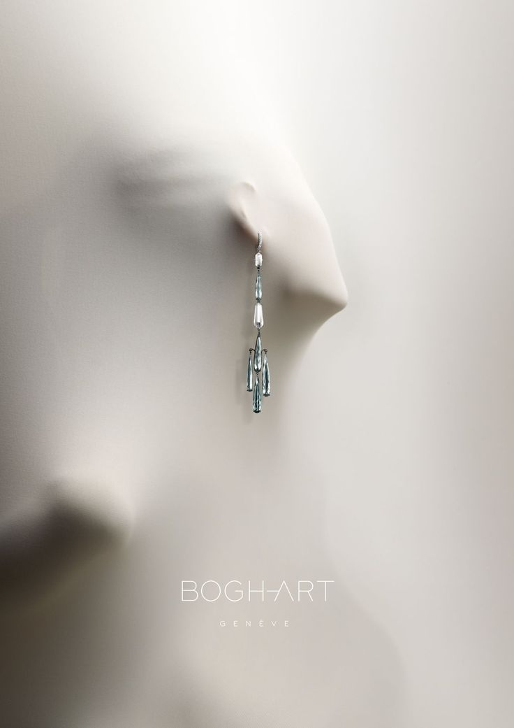 Photo of Bogh Art Geneve print advertising – kind of creepy but very much – women's jewelry and accessories