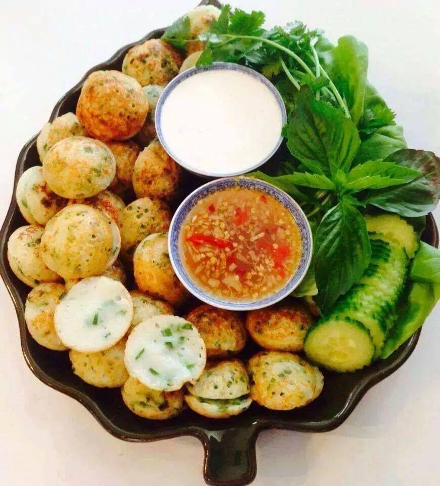 "Khmer Kitchen: ""Num Kruk"" - Khmer Grilled Bun"