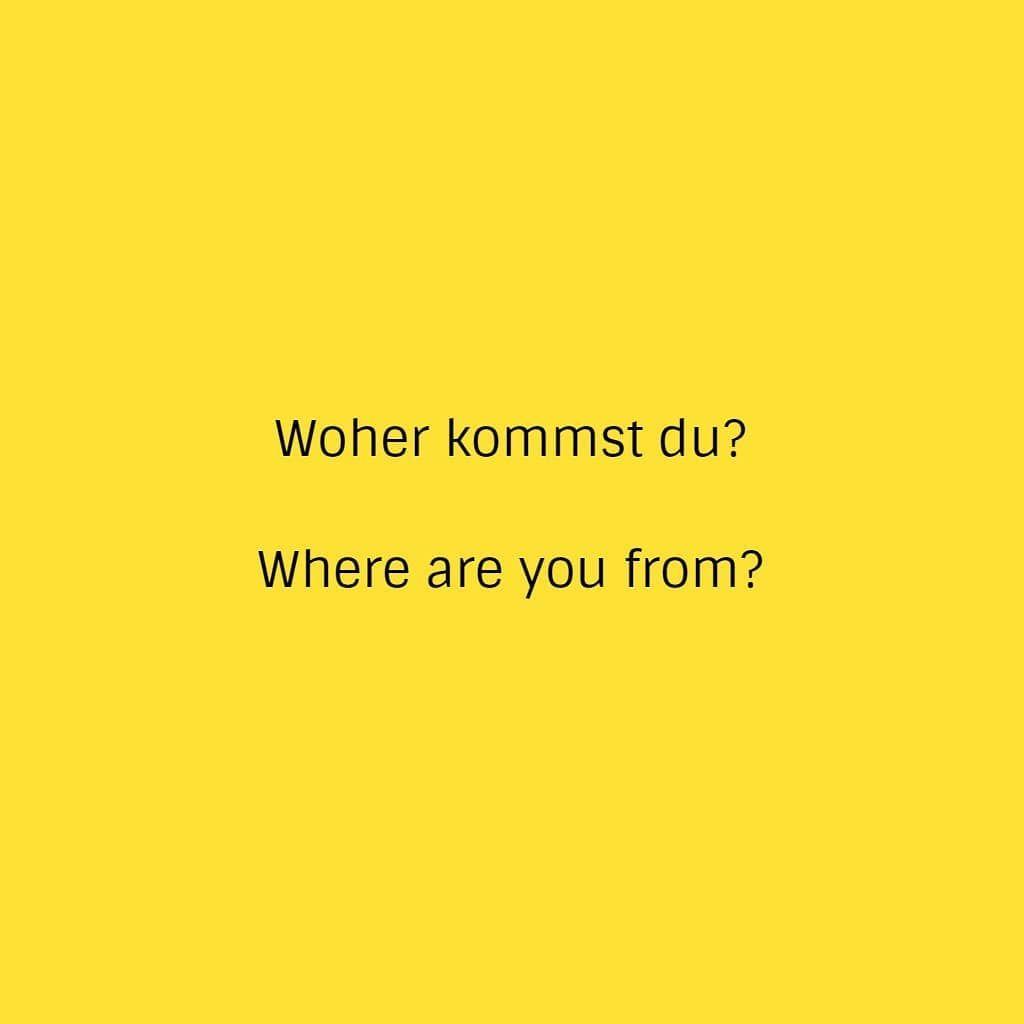Comment Deutsch