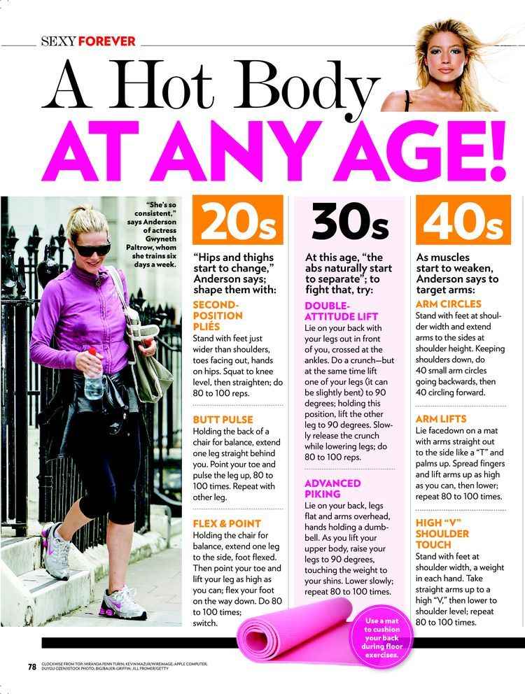 Tracy Anderson gives the best work out tips