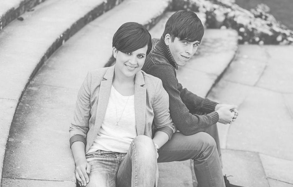 Lichtmädchen Fotografie | Pärchen, Paarshooting, couple, Portrait, in love, verliebt, outdoor, black and white, schwarzweiß