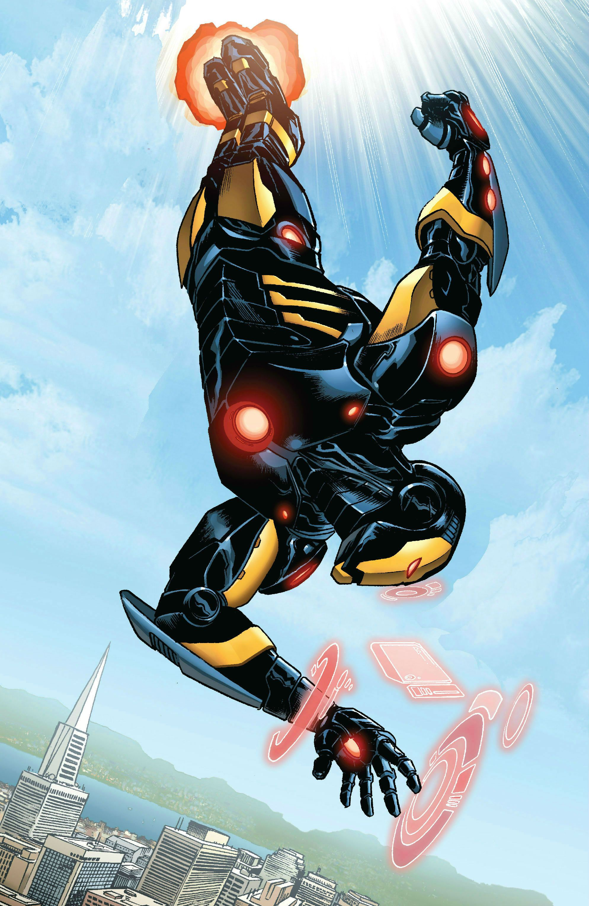 Here S What The New Extremis Armor Will Look Like In Superior Iron Man Iron Man Comic Iron Man Armor Iron Man Comic Books