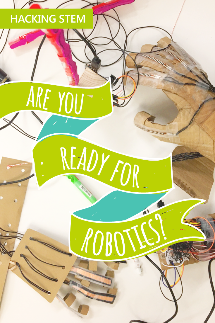 Check out this new Hacking STEM lesson blog about Anatomy, Robotics ...