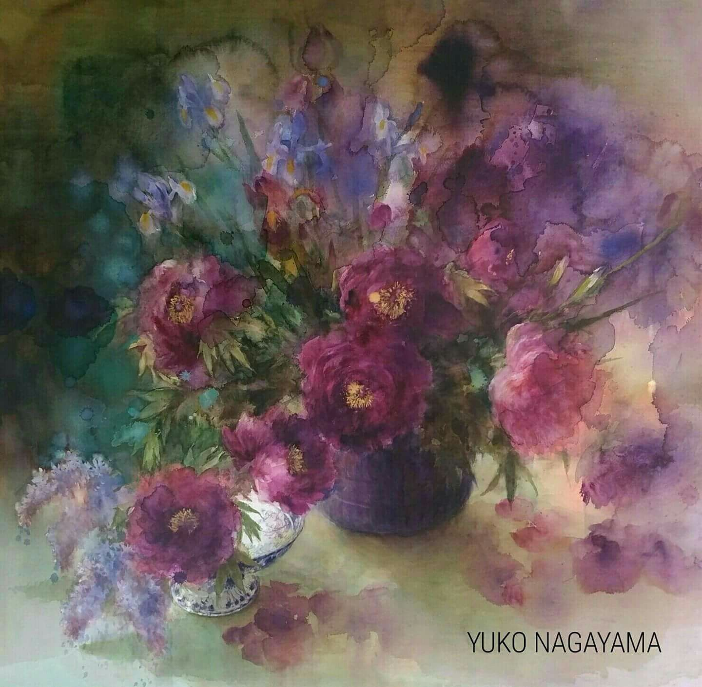 Pin By V On Yuko Nagayama Pinterest Watercolor Paintings And
