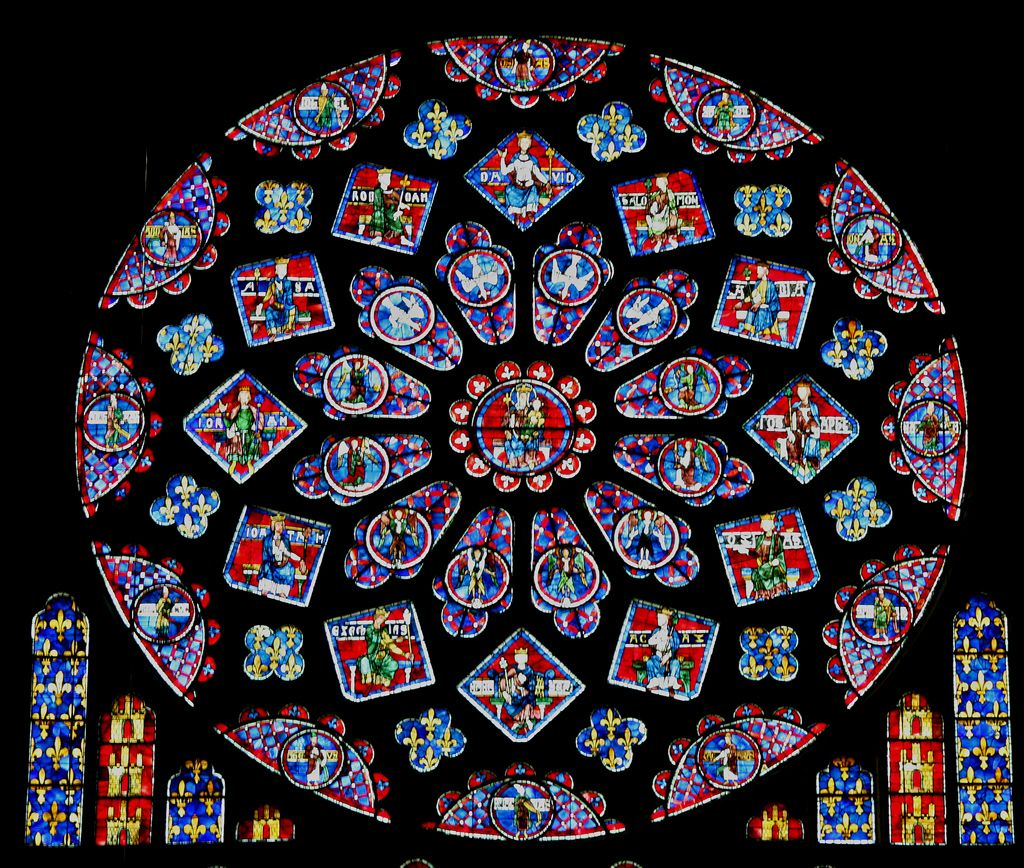 Stained Glass Windows From The Gothic Period Were An Important Part Of Christendom Thanks To Innovations In Construction That Introd
