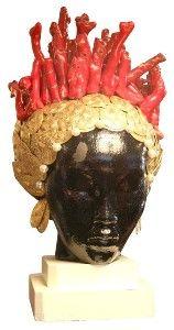Tony Duquette, coral crown