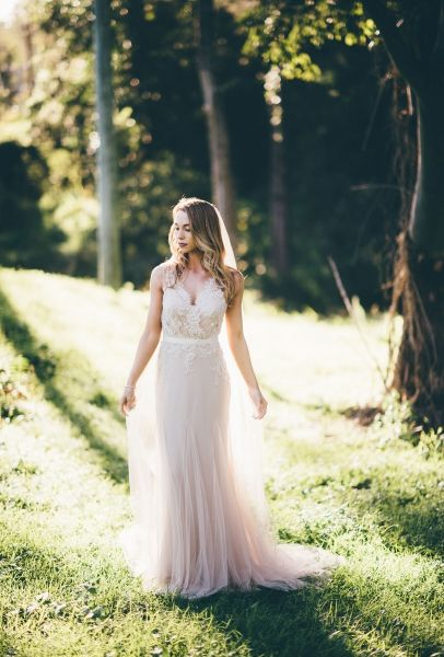 Soft Ethereal Wedding Dresses By Wendy Makin