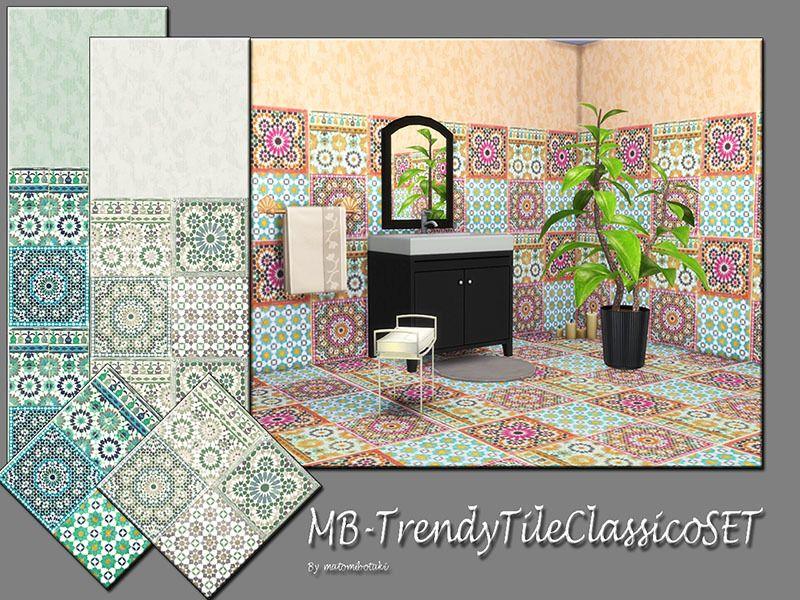 MBTrendyTileClassicoSET, elegant and classic looking tile