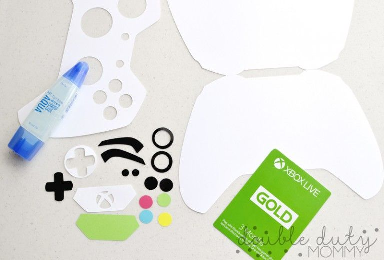 how to diy xbox controller gift card holder with images
