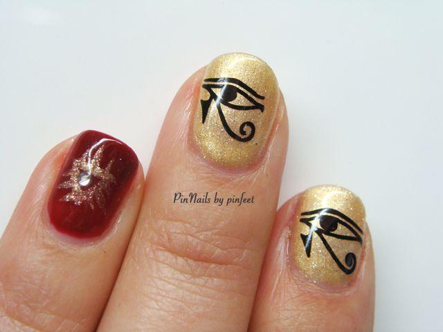 PinNails: Egyptian Nails / Uñas Egipcias | Nails nails nails ...
