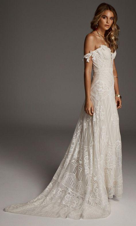 Rue De Seine Wedding Dresses We Love  Page 2 of 2 is part of Lace weddings - Cosmic Coralee Fox Gigi Galaxy Grace Blouse Moonlight Valentina Wild Harlow For dress details, please visit Rue De Seine