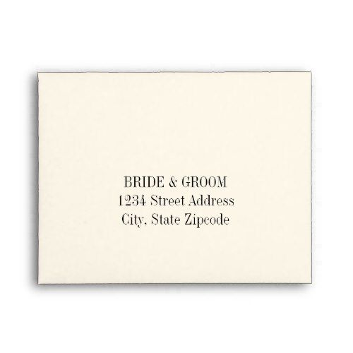 a2 ivory response envelopes in 2018 elegant weddings pinterest