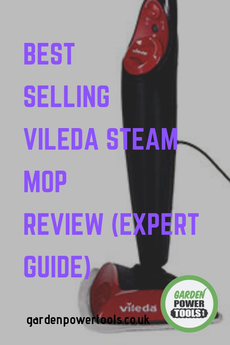 vileda cordless steam mop