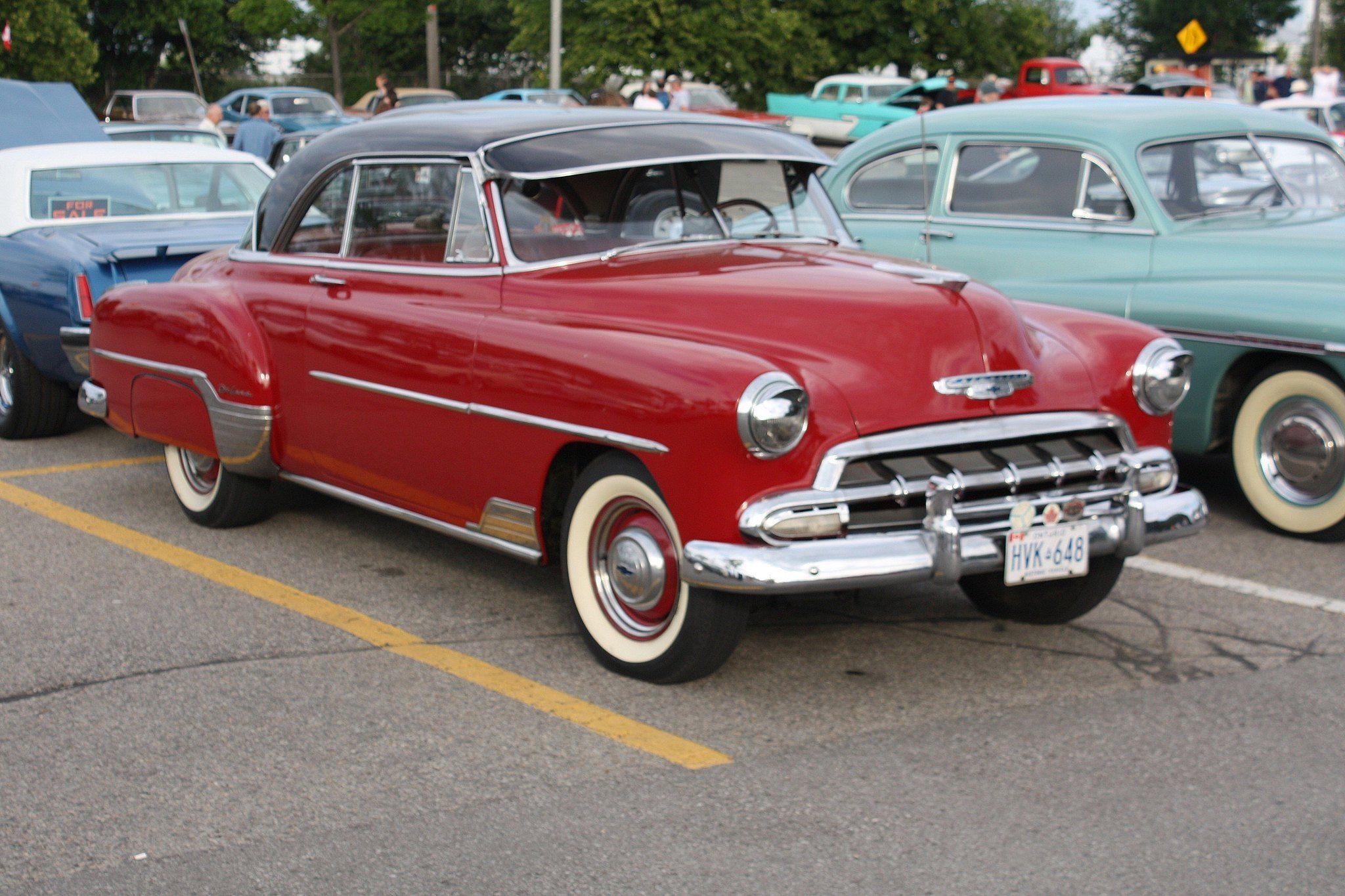 1952 Chevrolet Styleline Deluxe Bel Air hardtop