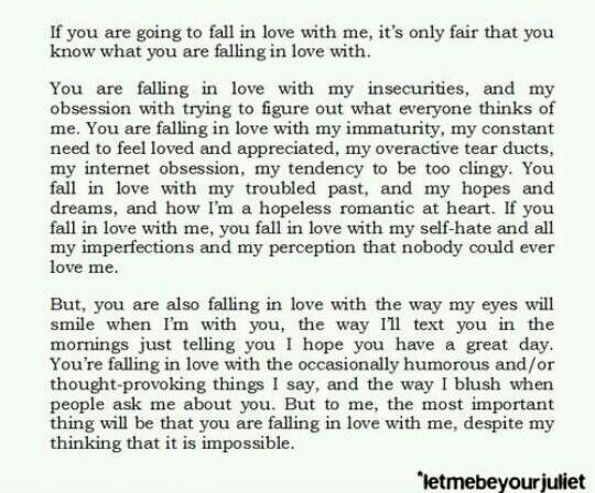 How to know when you re falling in love