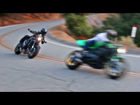 What kind of motorcycles do racers ride on the road? Jamie meets up with Eric Bostrom in Malibu for a ride on their personal bikes — a custom Honda CBR600RR and Kawasaki Z1000 — before taking off to a nearby private collection to discuss their shared passion — vintage motocross.     For more on motorcycles, visit: http://RideApart.com
