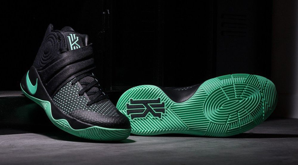 new concept 25ad5 ad39c Green Glow Kyrie 2s | Fresh Sneakers | Nike kyrie, Adidas ...