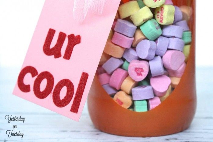 Valentine Mason Jar Gifts | Yesterday On Tuesday