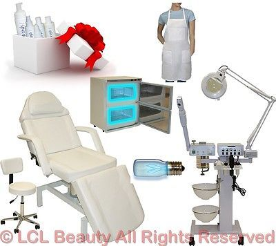 9 in 1 facial machine hydraulic massage table chair towel warmer salon equipment