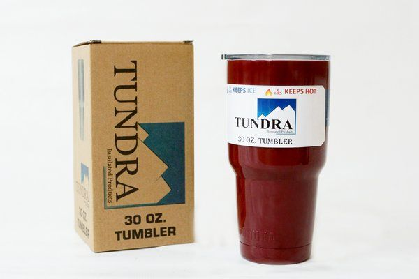 30 oz Maroon Tundra Tumbler $13.99 https://www.facebook.com/TundraInsulatedProducts/