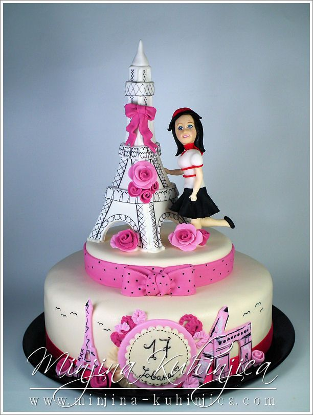 Paris  Birthday Cake Photos Cakes Pinterest Paris Birthday - Birthday cake paris