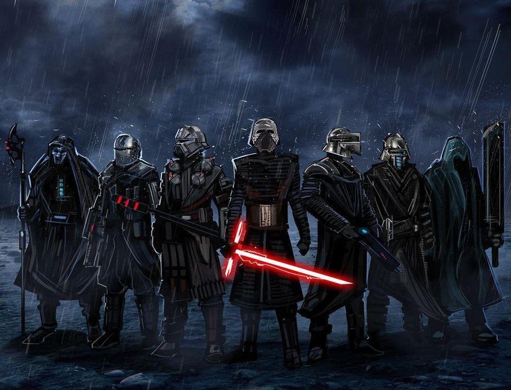 The Knights of Ren by Eli Hyder : StarWars