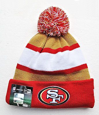 San Francisco 49ers 2013 Players Sideline Knit Beanie Cap Hat by New ... 52e91afb1
