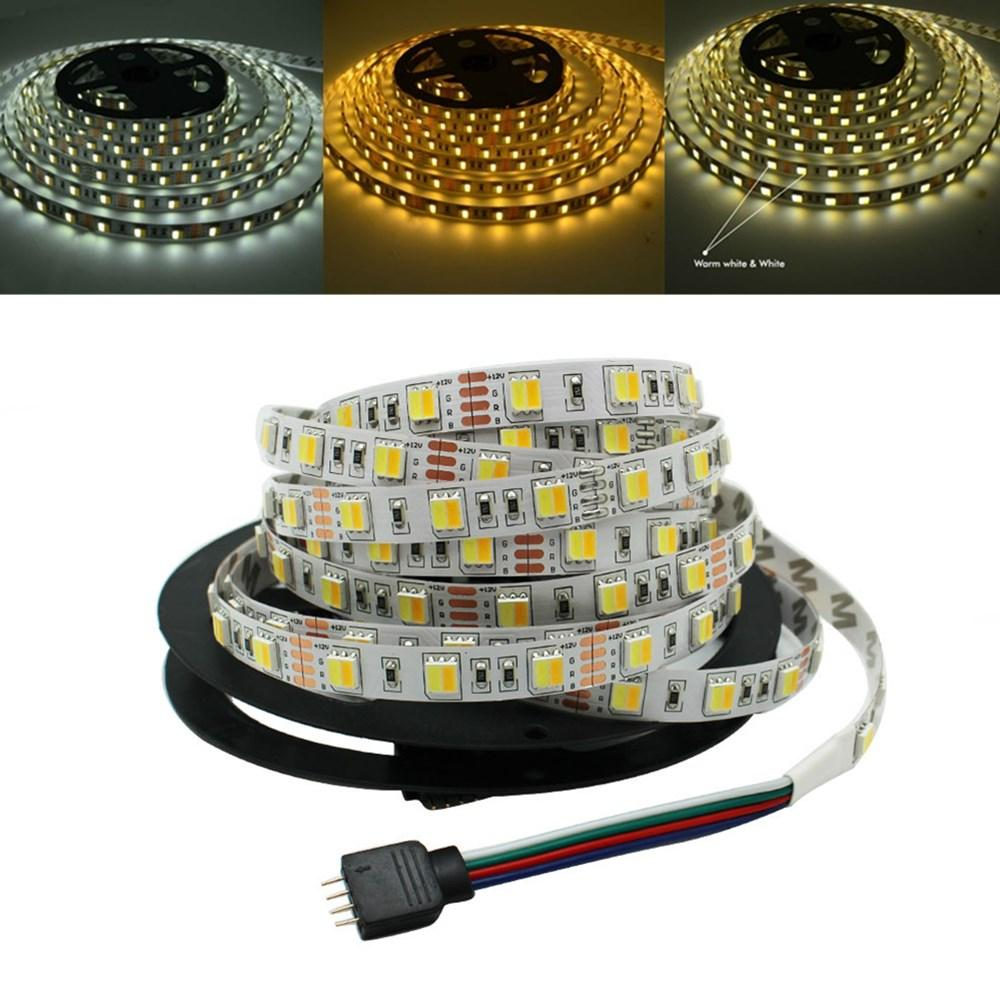 5m 5050 Smd Double Color Temperature Adjustable White Warm