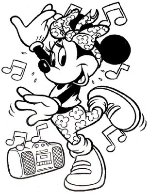 Printable Disney Coloring Pages For Airplane Activity Book