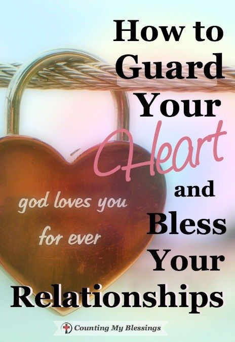 Guarding your heart in a relationship
