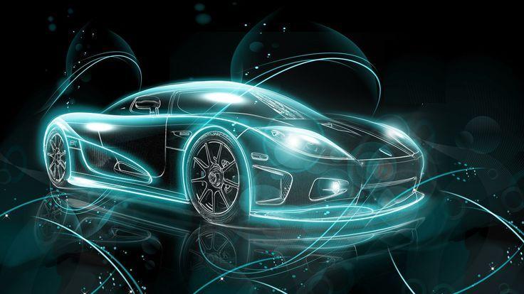 Voiture De Sport Abstraite Hd Wallpaper Voitures Sportives Cars
