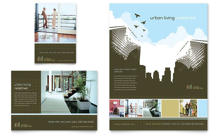 Realtor Brochure Template Real Estate Agent Realtor Brochure