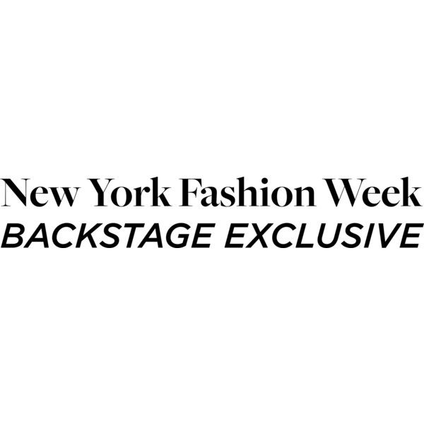 NYFW Backstage Exclusive ❤ liked on Polyvore