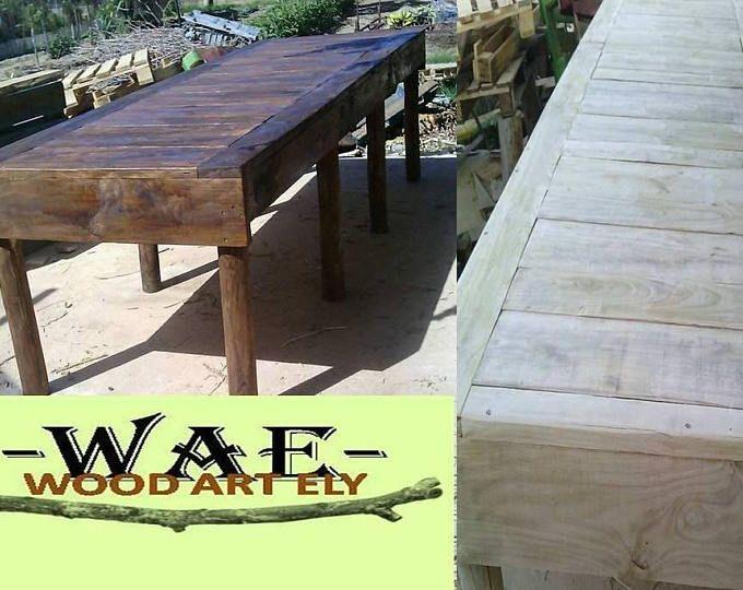 tavolo in legno massello da 3 metri | TAVOLO IN CASTAGNO VINTAGE ...