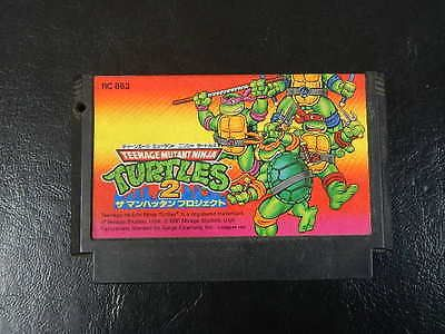 #Teenage #mutant ninja turtles 2 #famicom/nes jp game.,  View more on the LINK: 	http://www.zeppy.io/product/gb/2/332104483419/