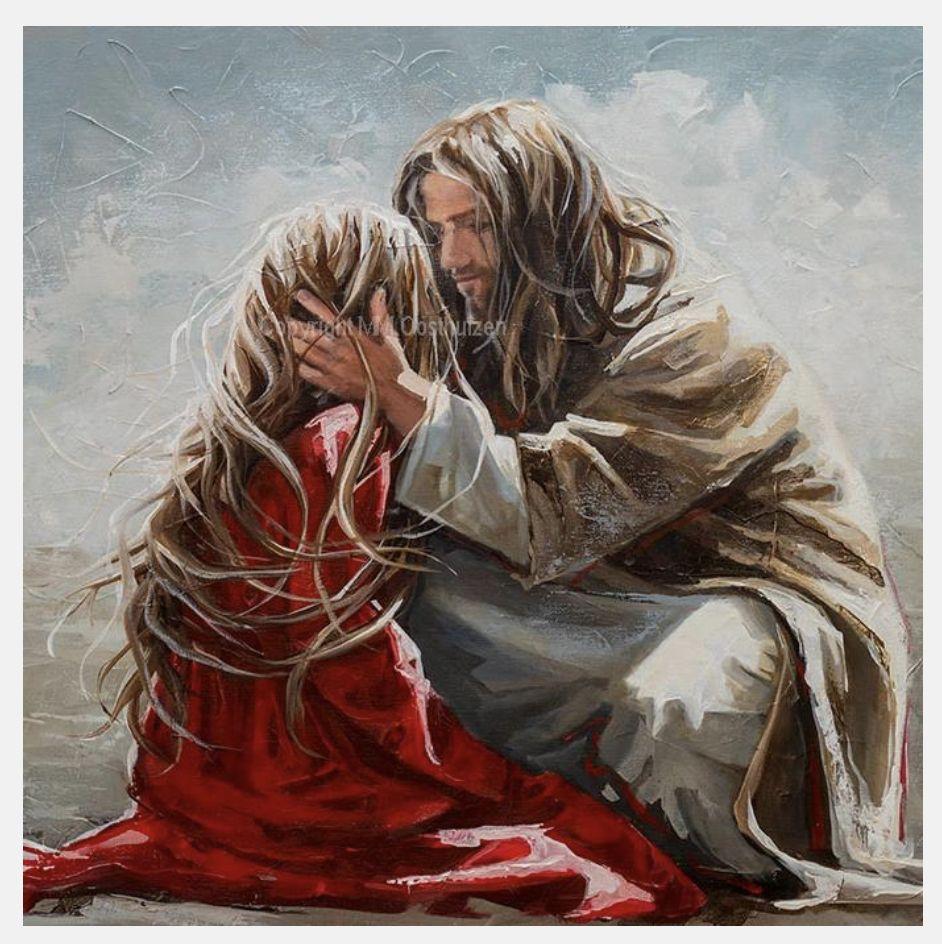 M18065 - Way Maker   Jesus painting, Pictures of jesus christ, Jesus art
