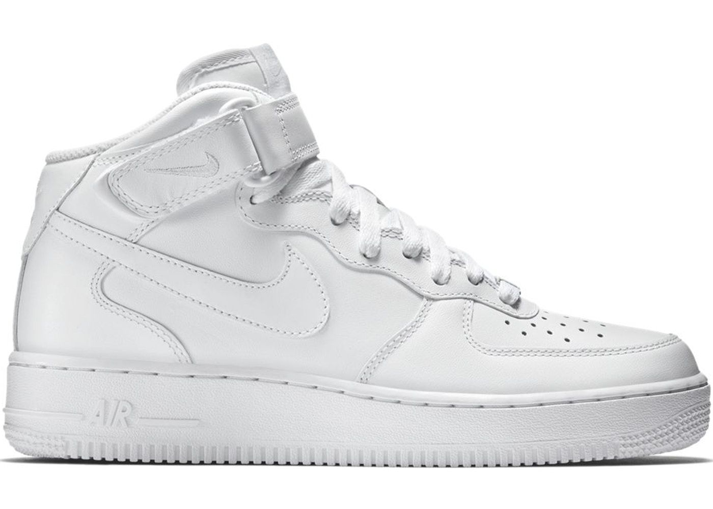 Check out the Air Force 1 Mid White  07 available on StockX ... 33d418652ae8