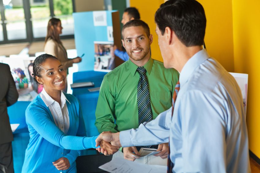 What recruiters notice about you first advice advice young people greeting each other m4hsunfo
