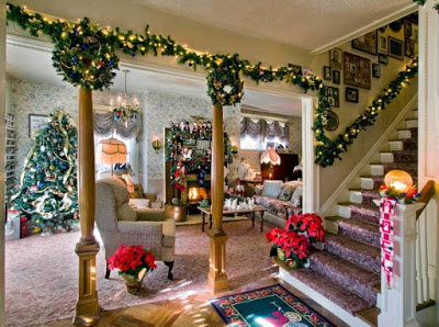 Unique Home Decorating Ideas For The Christmas Vacation Christmas House Decorations Inside Christmas Decorations Living Room Christmas Decorations For The Home