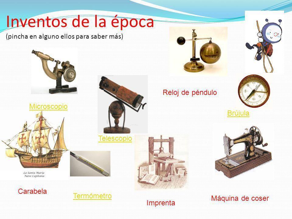 8 inventos de la edad moderna