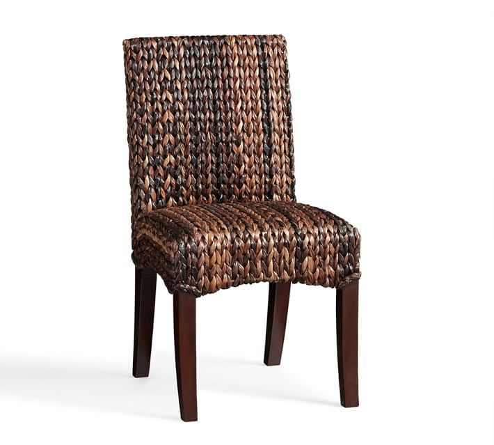 seagrass side chair, havana dark | dining chairs | pinterest