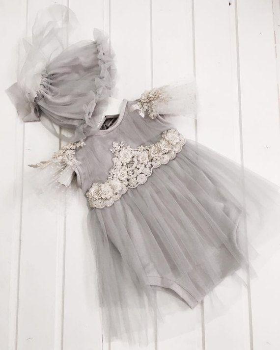 cod73 Baby photo prop romper-dress baby от 4LittlePrincessProps ...