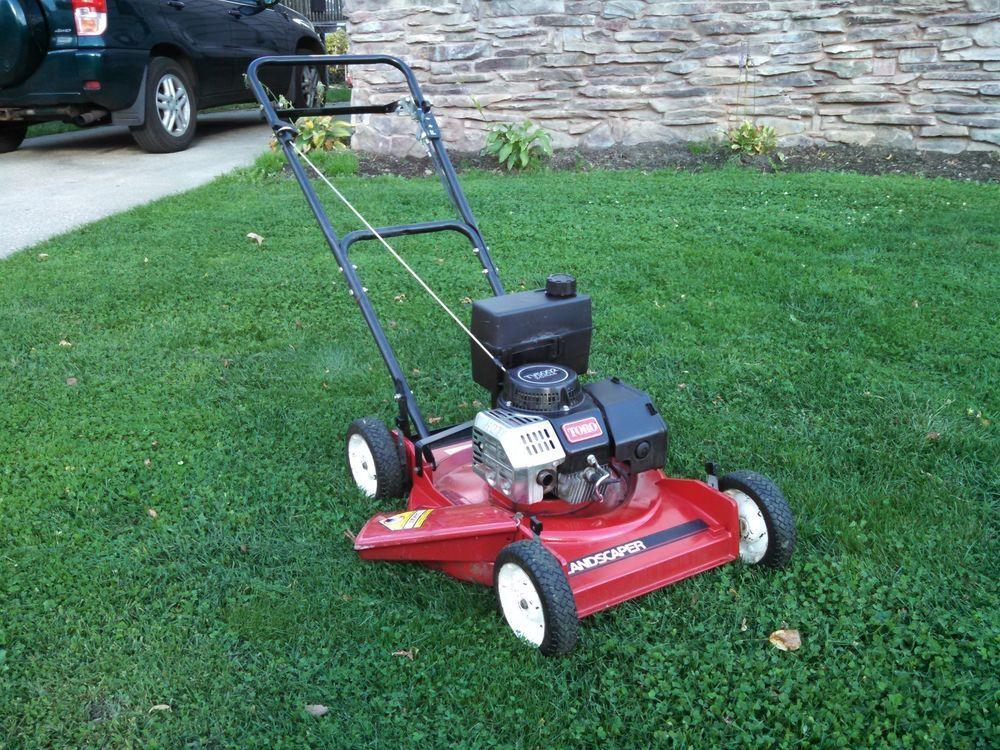 Toro Landscaper Commercial Lawn Mower 2 Cycle 22580 Suzuki